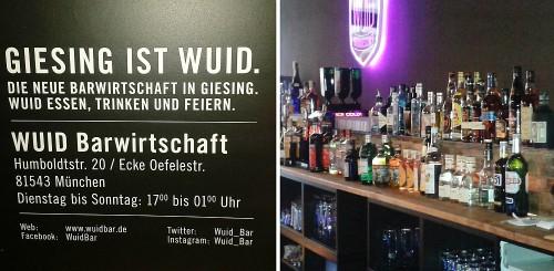 Bar Wuid in Giesing